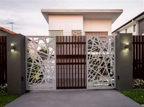 35 stunning modern gate design for home decoration