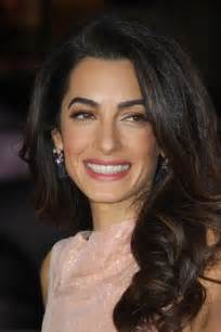 is amal clooney hair one length our brand is crisis los angeles premiere sophisticated