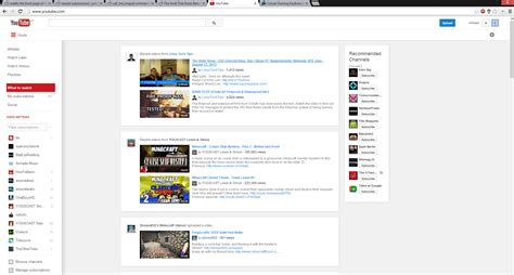 youtube layout through the years anybody else with a new youtube layout google