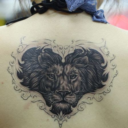 top 10 cool lion tattoos you can sport too heart face