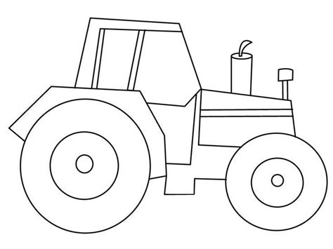 easy tractor coloring pages 25 best tractor coloring pages to print