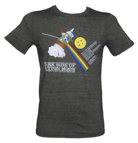 T Shirt Moon s side of the button moon t shirt