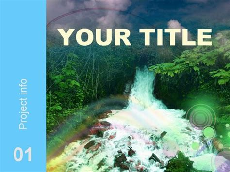 powerpoint themes river river template