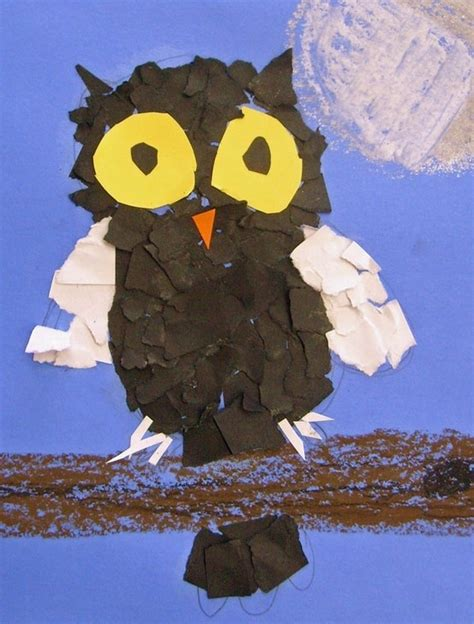 Paper Owls - torn paper owl by owls