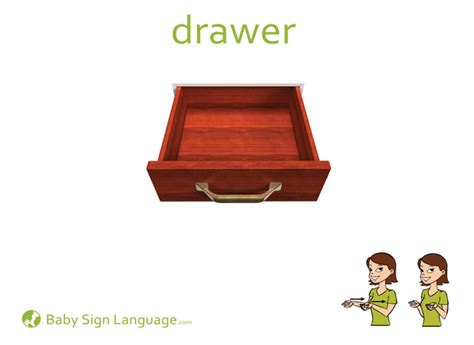 Drawer Sign by Drawer