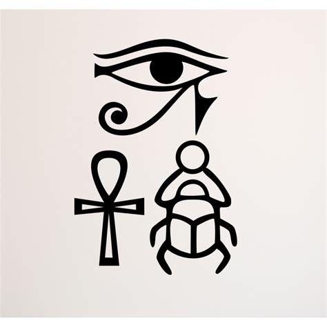 imagenes simbolos egipcios vinilos s 237 mbolos egipcios vinilos egipto deco soon