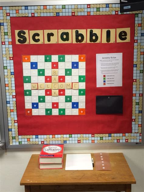 walk by scrabble board 68 best images about classroom bulletin boards on