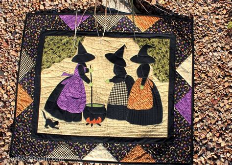 25 best ideas about witch quilt on