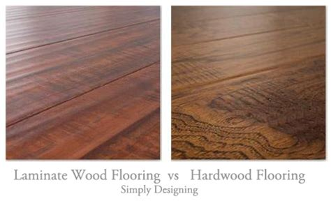 wood floor vs laminate floating laminate wood vs hardwood flooring