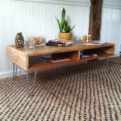 Mid Century Modern Coffee Table Legs - tendance les hairpin legs pieds de table en 233 pingle d 233 conome