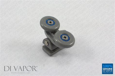 25mm Double Wheel Pivot Sliding Shower Door Roller Runners Sliding Shower Door Wheels