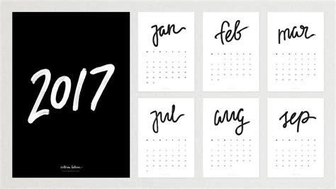 printable calendar 2016 calligraphy 2017 calligraphy calendar giveaway victoria behun