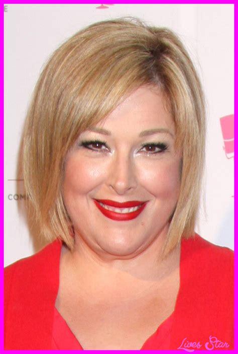 short medium hairstyles for fat faces short hairstyles for fat faces livesstar com