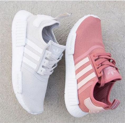 shoes adidas adidas shoes pink salmon color sneakers white wheretoget