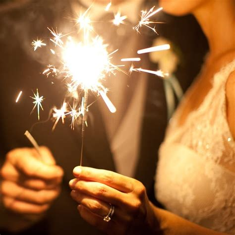 Wedding Sparklers by Sparklers In Cyberspace Wedding Sparklers Led