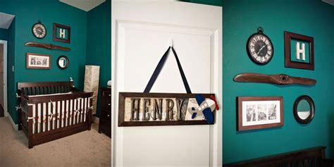 Classic Nursery Decor Vintage Airplane Nursery Decor Nursery Decorating Ideas