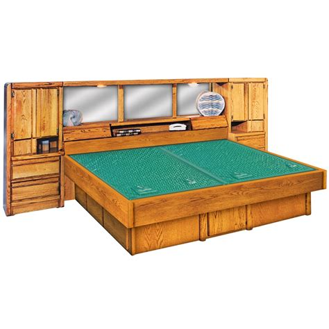 Water Bed Frame 5 Board Pine Waterbed Hardside Frame Waterbed Bed Frame