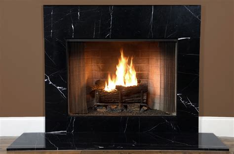Black Fireplace Surround by Fireplacemantles2