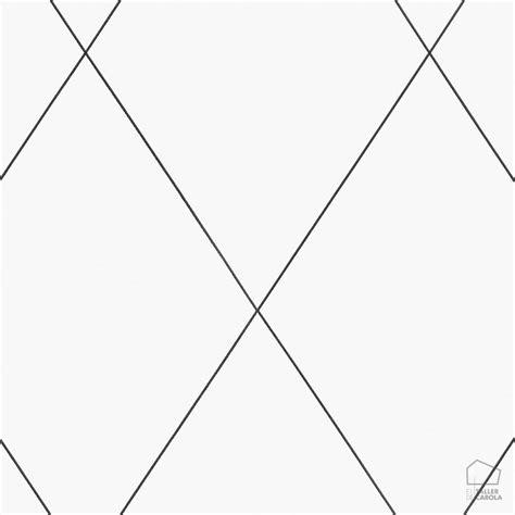 papel pintado rob geometrico rombos blanco el taller de carola