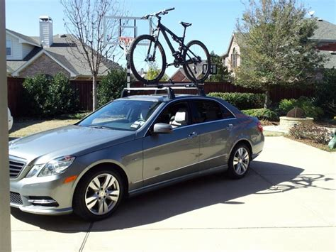 Mercedes Roof Rack by W212 Oem Roof Rack Basic Carrier Bike Rack And Cable Lock Mbworld Org Forums