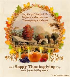 warm thanksgiving wishes ecardcorner