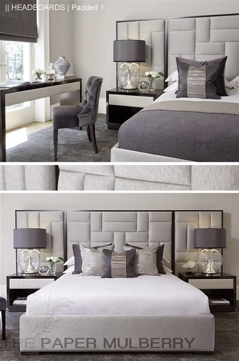 Padded Headboard by The Paper Mulberry Headboards Padded And Upholstered