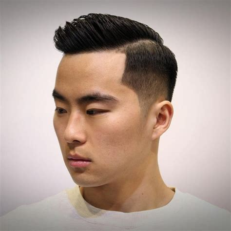 asian combover with short sides 55 lovely asian hairstyles for men the looks that will