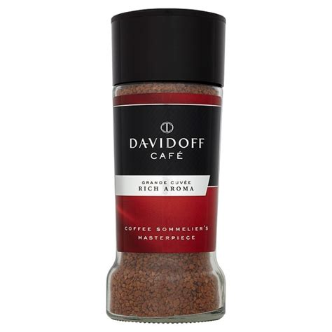 Davidoff Cafe Grande Cuvee Instant Coffee Aroma Kopi Import davidoff caf 233 grande cuv 233 e rich aroma instant coffee 100g