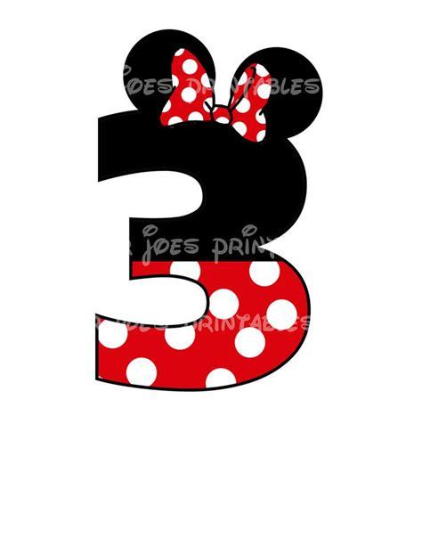 printable iron on minnie mouse minnie mouse age birthday number diy iron on printable