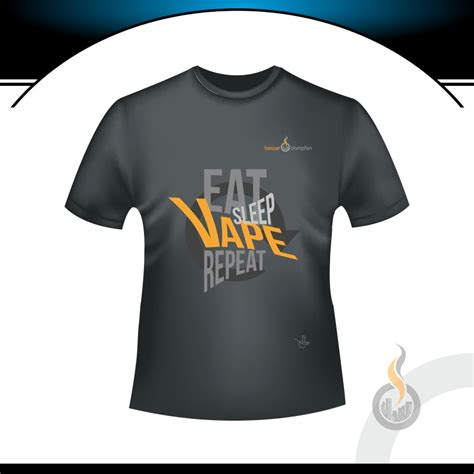 Kaos Eat Sleep Vape Repeat1 1 besser t shirt eat sleep vape repeat herren