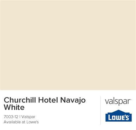 churchill hotel navajo white from valspar new home colors end tables and hotels