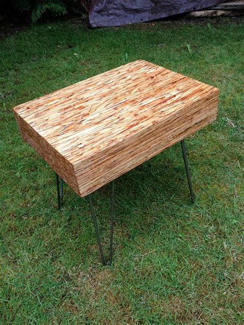 Butcher Block Table with Hairpin Legs   Modern Legs
