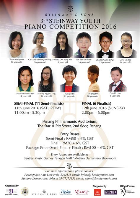 malaysia competition steinway sons malaysia youth piano competition 2016