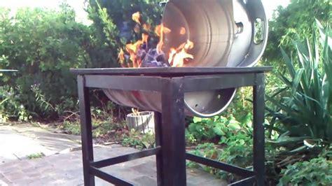 feuerschale selbst gebaut grill aus bierfass selbst gebaut