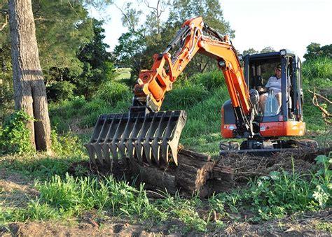 Landscape Rake Mini Digger Stick Rakes For Excavators