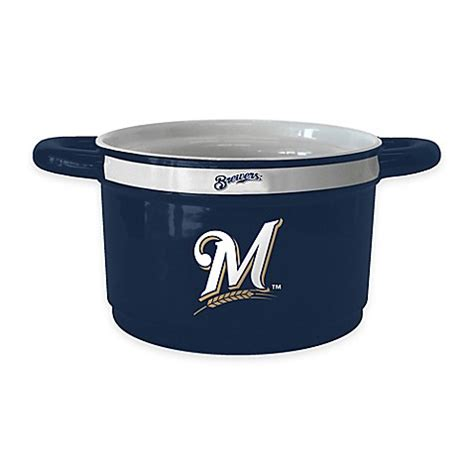bed bath and beyond milwaukee mlb milwaukee brewers gametime bowl bed bath beyond