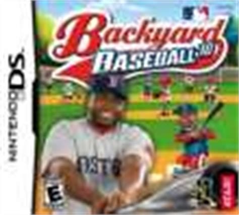 Backyard Baseball Ds by Backyard Baseball 2010 Release Date Ds
