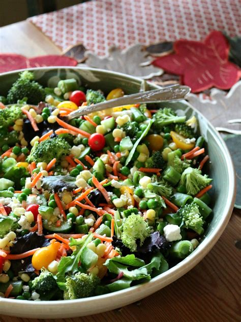Hearty Detox Salad by Hearty Vegetable Salad