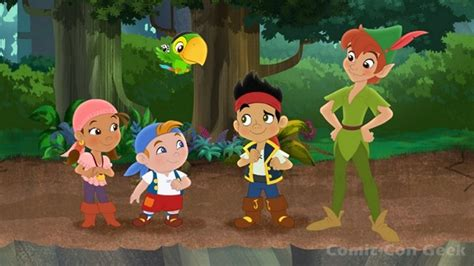 jake and the neverland by jake and the never land pan returns comic con