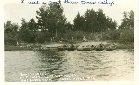 boat parts eagle river wi penny postcards from vilas county wisconsin