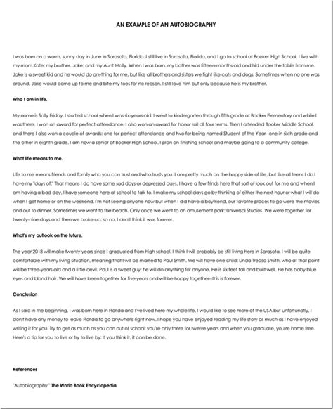 personal biography template 38 biography templates with images in word pdf