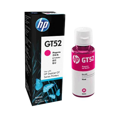 Tinta Printer Hp Gt52 Yellow Ink Bottle Original jual hp gt52 original ink bottle magenta harga kualitas terjamin blibli