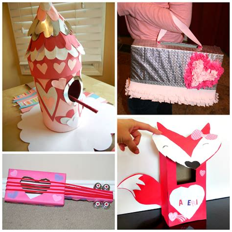 cute homemade valentine ideas the cutest valentine boxes that kids will love
