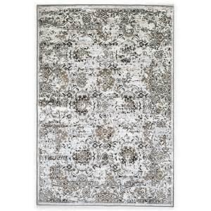 verona collection patina rug in grey bed bath beyond