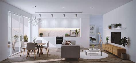 arredare open space cucina soggiorno ecco  idee