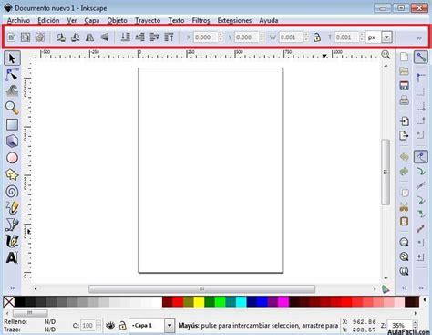 tutorial de inkscape curso gratis de inkscape interfaz o 225 reas de trabajo