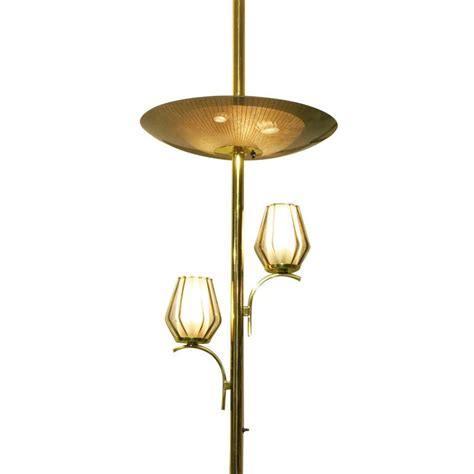 Floor To Ceiling Light Brass Light Floor To Ceiling Tension Pole L For Sale At 1stdibs