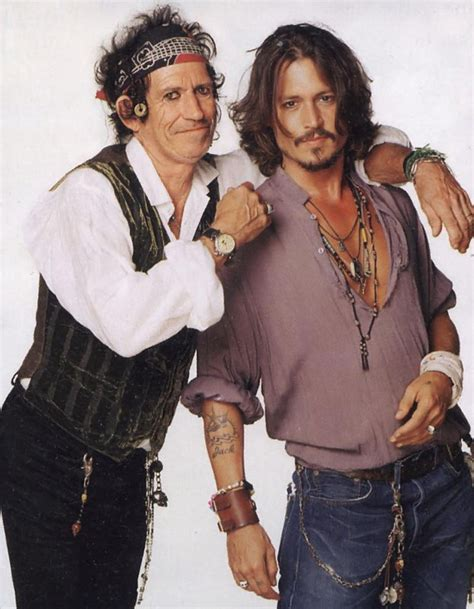 keith richards biography johnny depp photographer matthew roslton
