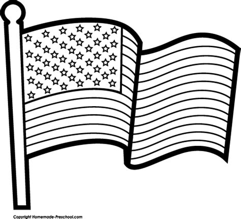 american flag clip art coloring page free american flags clipart