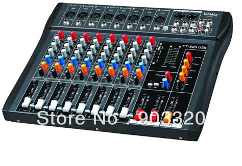 Mixer Audio Merk China aliexpress buy sale ct 80s 8 channels professional dj audio mixer with usb mp3 for ktv